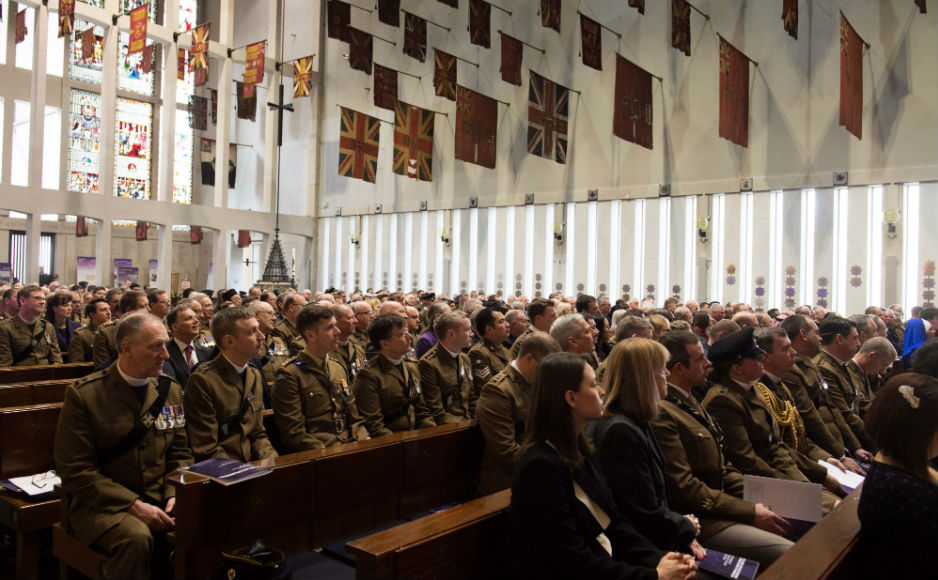 View of the service