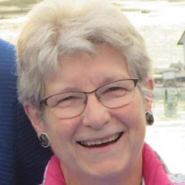 Ann Nelson smiling
