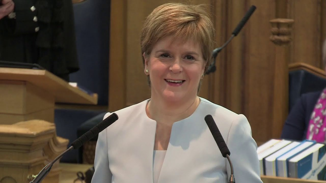 Address by the First Minister of Scotland