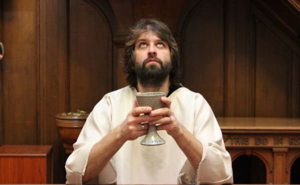 Actor Duncan Rennie as Jesus.