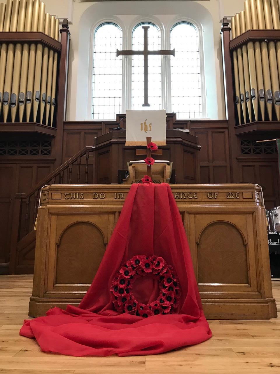 Kirkton Church Poppies