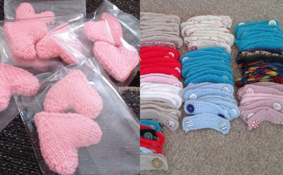 Mansefield Trinity knitted crafts
