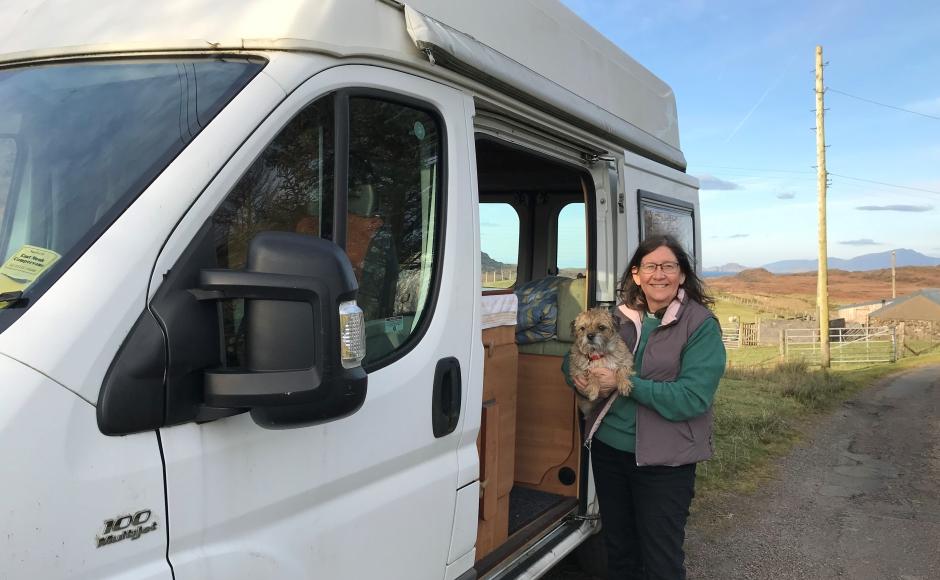 Maisie and Rev Fiona Ogg