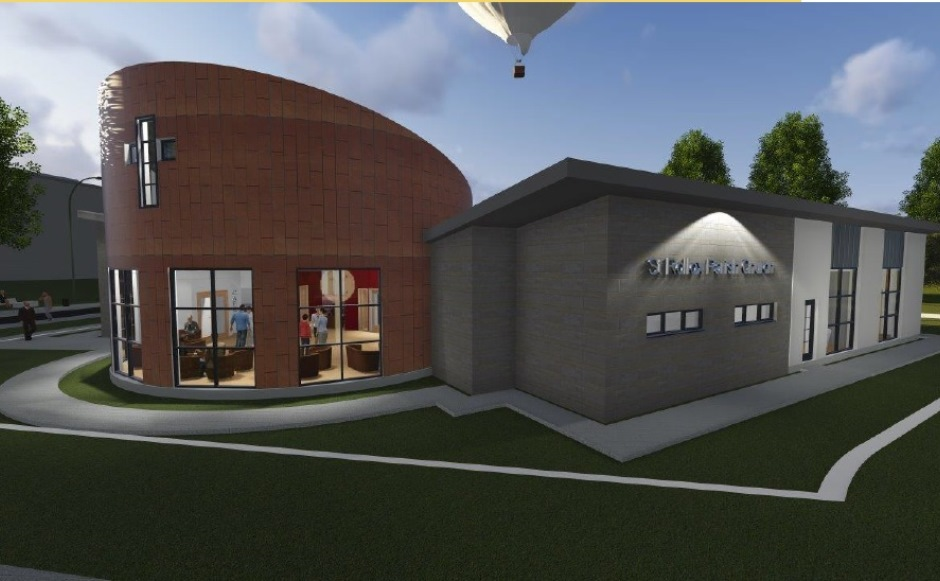 An artist's impression of the new St Rollox Church