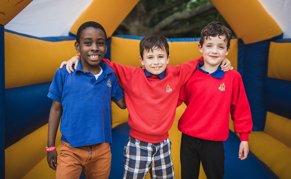 The Kirk will be hosting a parliamentary reception celebrating young people across Scotland on 25 September. Pictured are members of the Boys Brigade