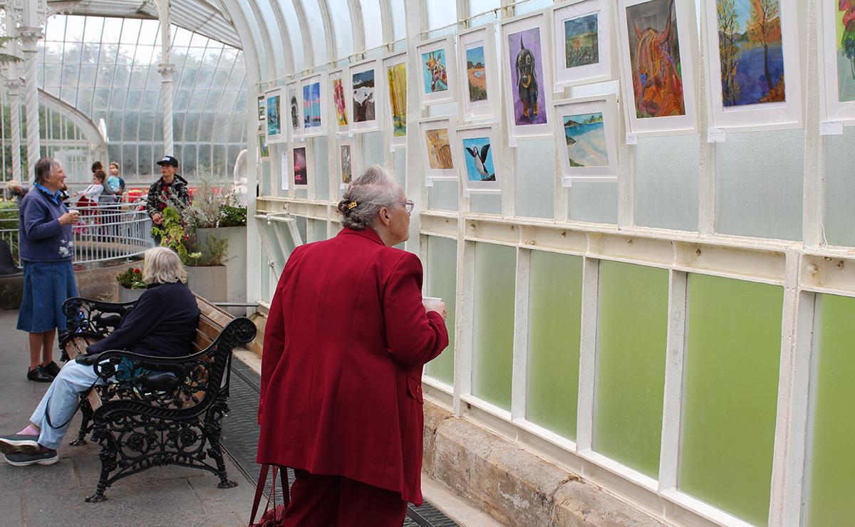 Hazel Gower, Edinburgh participant