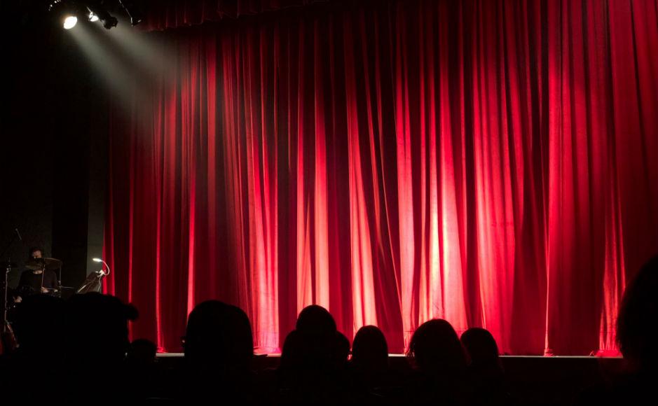 Empty stage