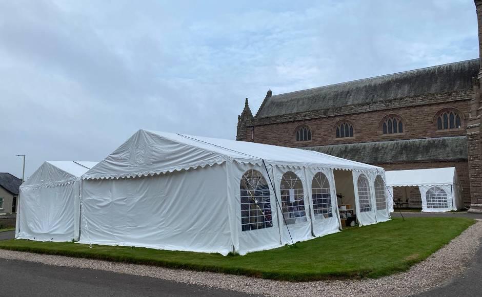 Church tent Forfar