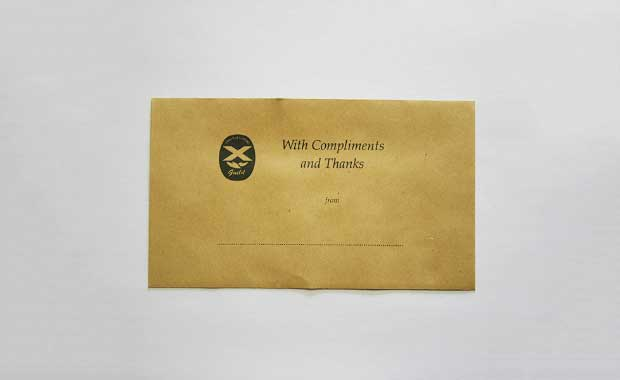 Speakers Expenses Envelopes