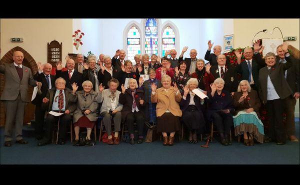 Kirkcaldy visit long service award