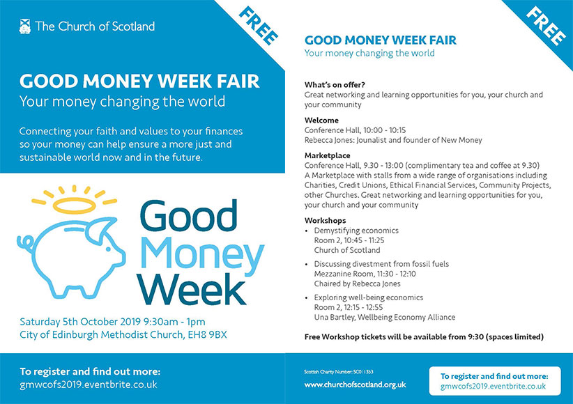 Good Money Week flyer