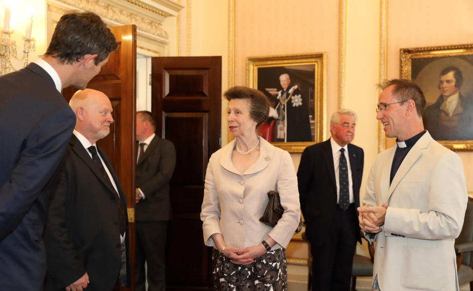 Princess Anne and book authors