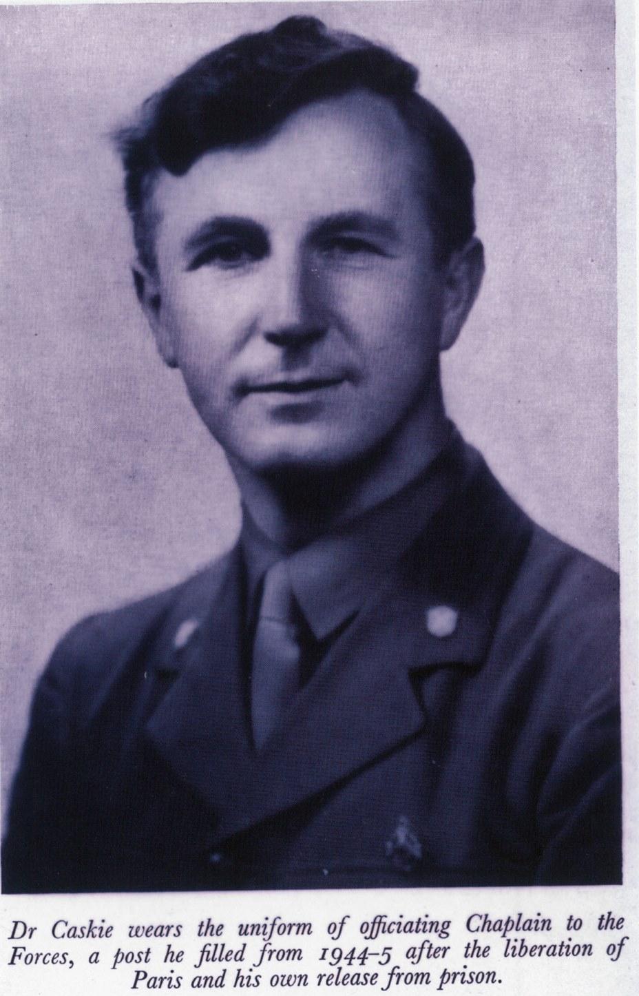 Rev Dr Donald Caskie
