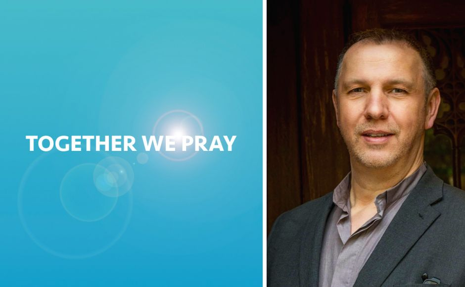 Doug Gay beside the words Together We Pray