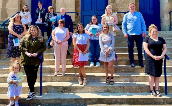 New members of Port Glasgow Parish Church