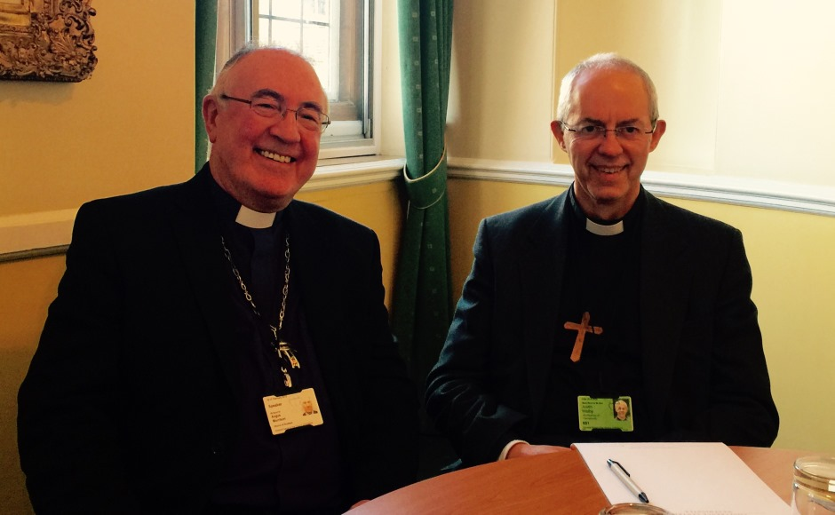 Angus Morrison Justin Welby