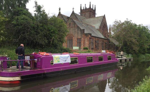 Barge Polwarth church